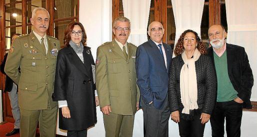 Eduardo Gutiérrez de Rubalcava, Esperanza Serrano, Teodoro Pou, Miguel Rotger, María Luisa Vallés y José Boned.