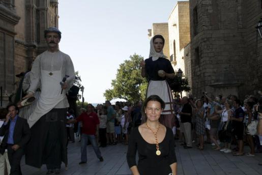 Maria Salom ha presidido su primera Diada al frente del Consell de Mallorca.