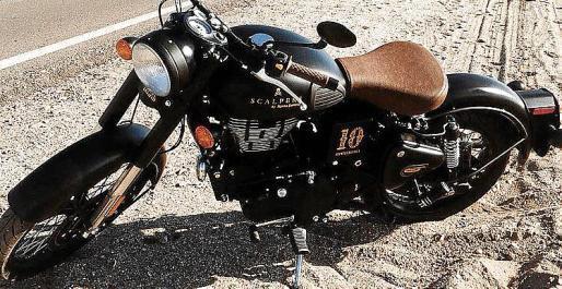 La moto Royal Enfield Classic 500 Scalpers es una serie limitada.