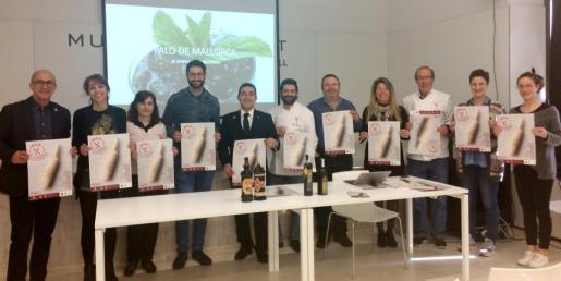 La presentación de las Jornadas Gastronómicas del Palo de Mallorca tuvo lugar en el Museu del Calçat de Inca.