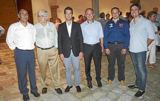 Joan Carles Gomis, Rafael Amengual, Fernando Gilet, Toni Coll, Joan Pau Reus y Fernando Gómez de la Cuesta.