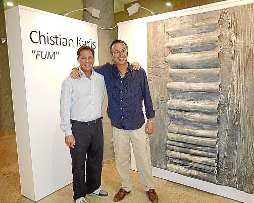 Christian Karis y Micki Antón.