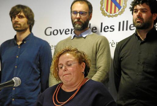 La exconsellera Ruth Mateu dimitió en abril del año pasado.