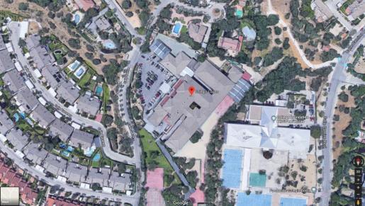Imagen de satélite de la ubicación del colegio donde han tenido lugar los hechos.