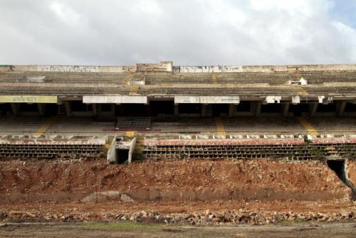 En enero de 2015 comenzaron los trabajos para la demolición del Sitjar. Cort y Mallorca ya han alcanzado un acuerdo. Ahora falta el 'sí' de los Copropietarios para zanjar la compraventa.