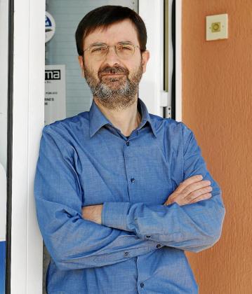 Tiago Ameller, de la empresa Menorca Zeros i Uns SL , lleva treinta años en el sector TIC.