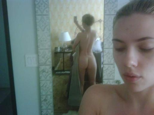 Las fotos de la actriz, tomadas por ella misma, se han filtrado a través de internet.