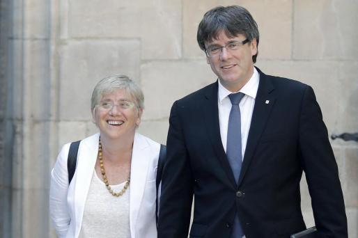 La exconsellera de Enseñanza Clara Ponsatí ha anunciado este sábado que ha abandonado Bélgica y se ha reincorporado a la Universidad de Saint Andrews, situada en Escocia (Reino Unido).