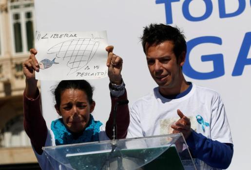 Patricia Ramírez y Ángel Cruz, los padres de Gabriel.