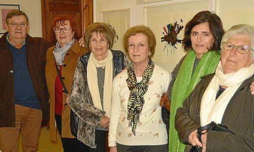 Antoni Gamundí, Antònia Vives, Antònia Vives, Maria Fanals, Magdalena Seguí y Margalida Mestre.