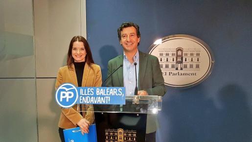 El presidente del PP ha recordado que en su partido denunciaron «hace meses» que Armengol había «reforzado su gabinete de comunicación».