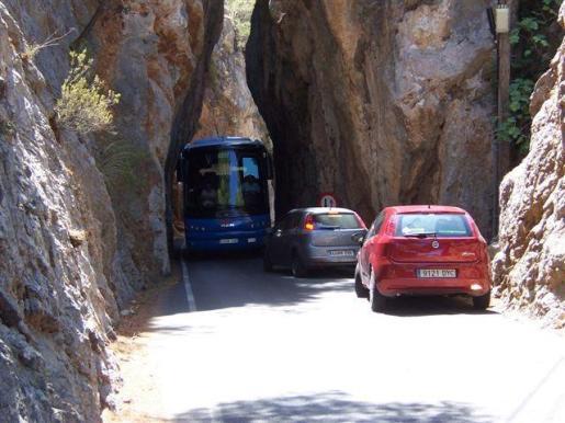 Carretera de sa Calobra.