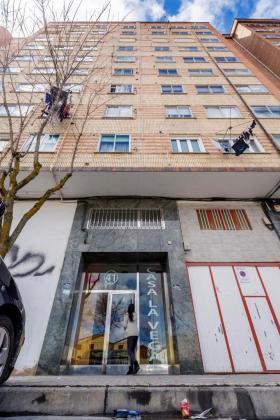 Fachada del edificio donde murió al caer por la ventana la primera hija de Ana Julia Quezada Cruz.