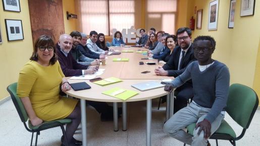 La nueva ejecutiva de MÉS per Mallorca se ha reunido este lunes en Palma por primera vez.