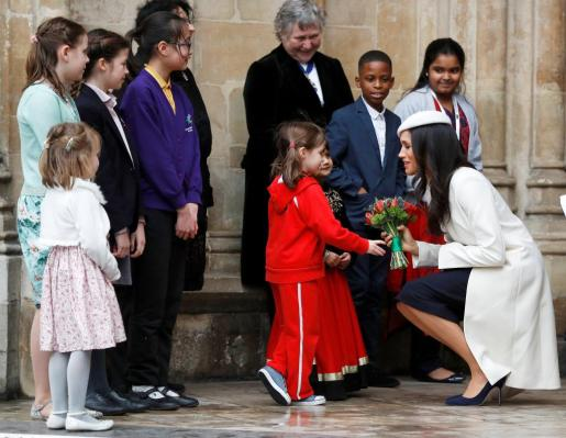 Meghan Markle durante uno de los actos del Día de la Commonwealth.