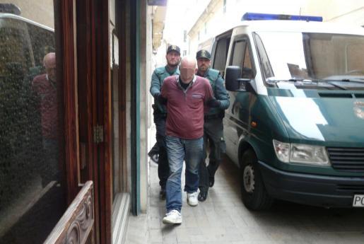 El policía local conducido a los juzgados de Manacor.