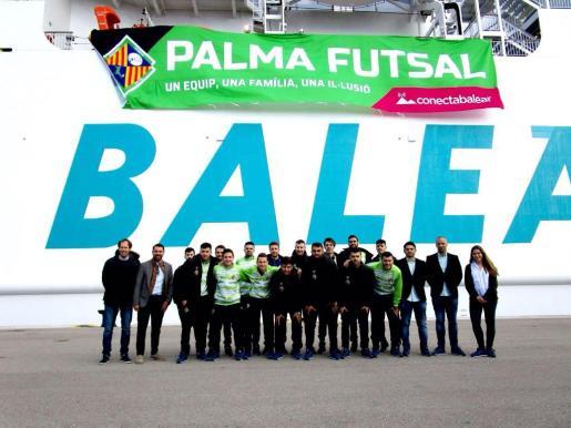 El Palma Futsal pone rumbo a la Copa de España
