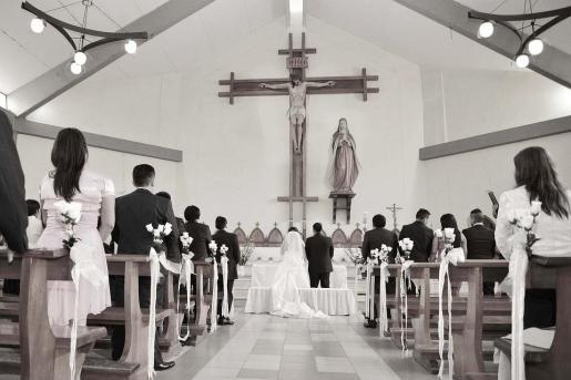 No se sabe si la novia consiguió llegar a tiempo al altar.