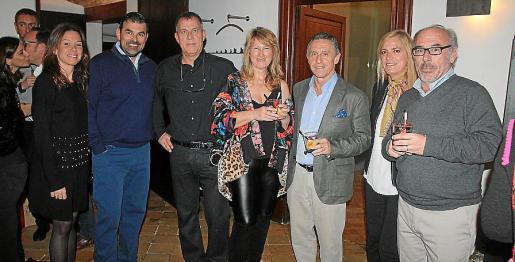 Cristina Vivancos, Carlos Anglada, Klaus Günter, Xisca Torrandell, Miguel Astray, Elena García San Miguel y Antonio Cañellas.