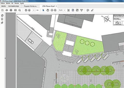 Proyecto de reforma y embellecimiento de la Plaça Major.