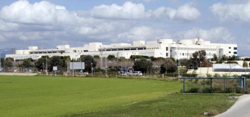 Vista del hospital de Son Llàtzer.