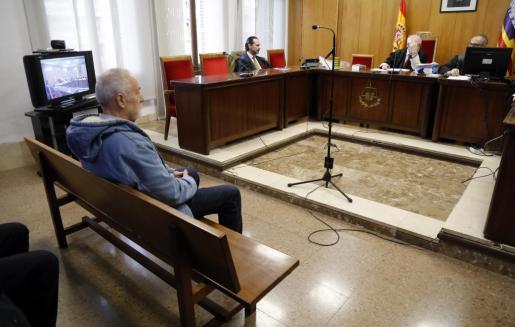 El empresario Bartolomé Cursach, durante el juicio celebrado este jueves en Palma.