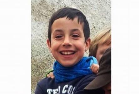 La convocatoria está encabezada por una imagen de Gabriel Cruz, el niño secuestrado y hallado muerto en una localidad de Almería.