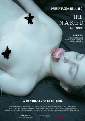 The naked art book cuenta con imágenes de diferentes artistas, como Laura Makabresku.