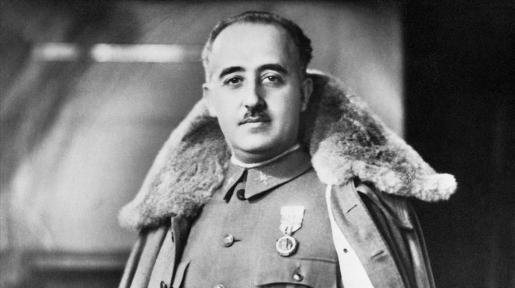 Imagen del dictador Francisco Franco.