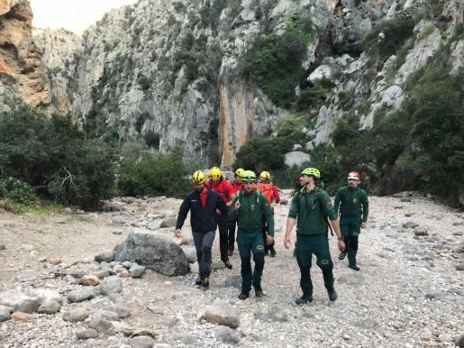 Un excursionista alemán ha fallecido la tarde de este jueves en el Torrent de Pareis.