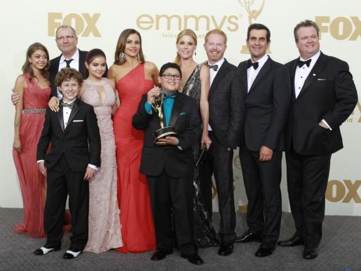 Los actores de Modern Family.