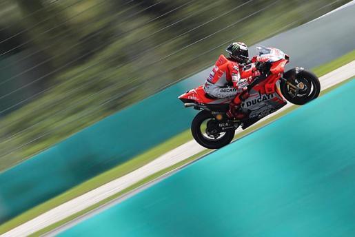 El piloto mallorquín de MotoGP Jorge Lorenzo, Ducati.
