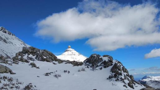 Imagen de archivo del Puig Major nevado.