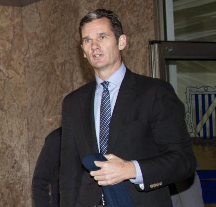 El exduque de Palma, Iñaki Urdangarin, a su salida de la sala del juicio del caso Nóos.