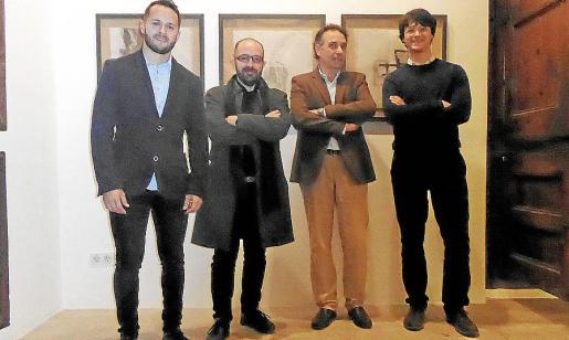 Xisco Duarte, Pep Tur, Miguel Planas y Guillem Tomás.