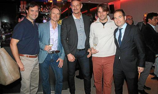 Octavi Uyà, Félix Wolf, Jens Piermann, Roger Llovet y Carlos Sanlorenzo.