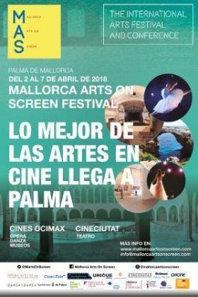 Cartel del Mallorca Arts on Screen.