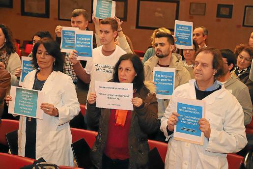 Algunos colectivos sanitarios se han opuesto al decreto que aprobará el Govern.