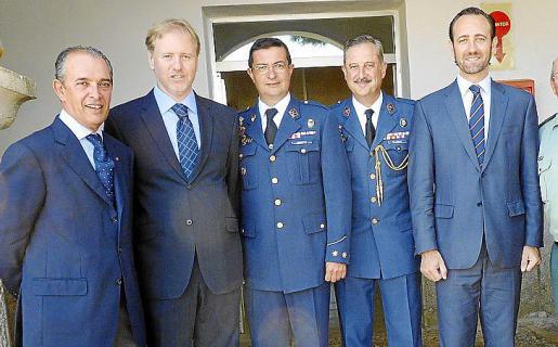 Esteban Mas, Ramon Socías, Víctor Manuel Navarro, Carlos de Palma y José Ramón Bauzá.