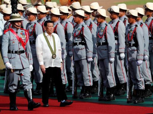 La guerra contra las drogas de Duterte ha dejado ya más de 4.000 muertes.