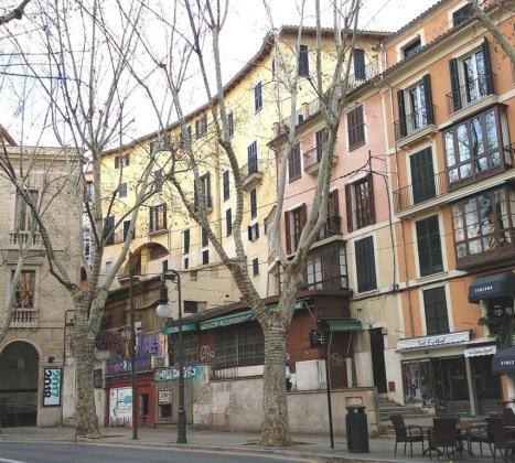 ARCA ha pedido que la rampa de acceso a la Plaça Major no esté en la Costa des Teatre.