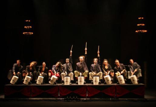 La compañía Mayumana durante su anterior visita al Auditòrium de Palma, en 2006.