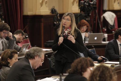 Patricia Gómez, durante una imagen de archivo.
