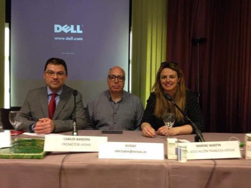 Una asociación de afectados por el Depakine se ha presentado este viernes en Madrid.