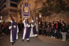 Los estandartes abren la Semana Santa en Palma