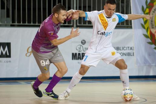 El Palma Futsal ha caído goleado en Santa Coloma.