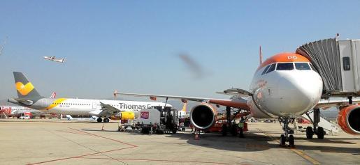 El servicio de atención en tierra a pasajeros y aviones se ha convertido en un gran negocio en el aeropuerto.
