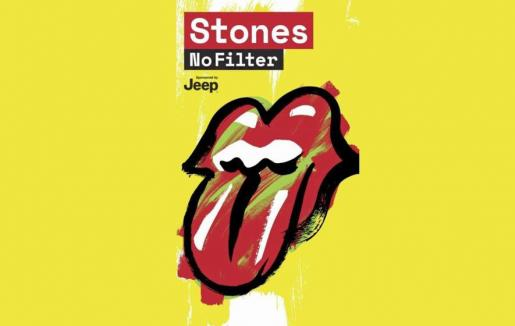 Cartel de la La gira Stones - No Filter 2018.