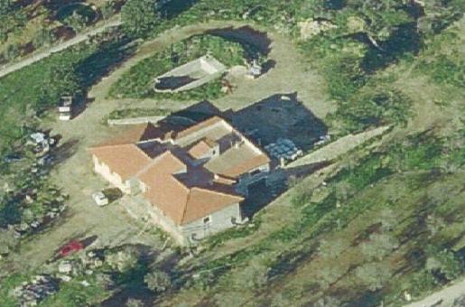 Multa de 1,4 millones por construir una vivienda en suelo rústico en Marratxí. Imagen de la edificación publicada por la Agència de Defensa del Territori.