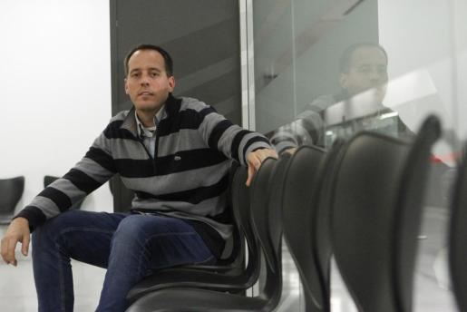 El ajedrecista y Gran Maestro menorquín Paco Vallejo en Maó.